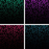 Set of Abstract Technology Backgrounds — Stock Vector