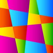 Abstrait géométrique coloré. — Vecteur