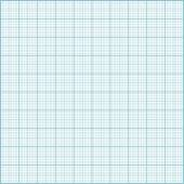 Blue millimeter paper background. — Stock Vector