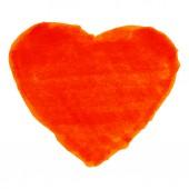Corazón rojo rotulador — Vector de stock