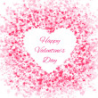 Frame of many hearts - Valentines Day — Stock Vector #62346173