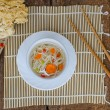 Chinese noodles soup healthy? — Stock Photo #52301811