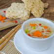 Chinese noodles soup healthy? — Stock Photo #52301831