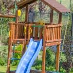 Slide for children — Stock Photo #52373403