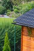 Garden house roof — Stock Photo