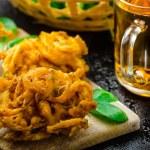 ������, ������: Crispy Onion Bhajis