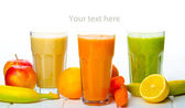 Smoothie day, time for healthy drink — Stock Photo