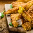 Corn crusted Chicken Tenders — Stock Photo #57557379