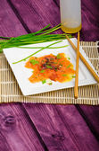 Sashimi new style — Stock Photo