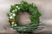 Advent wreath — Stock Photo