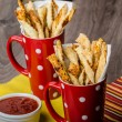 Party sticks from puff pastry — Stock Photo #60287853