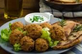 Health crunchy falafel — Stock Photo