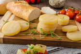 Czech smelly cheese - Olomoucke tvaruzky — Stock Photo