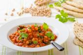 Spinach chickpea curry — Stock Photo