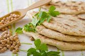 Lebanese bread, pita bread — Stock Photo