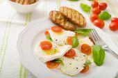 Ensalada de mozzarella y tomates — Foto de Stock
