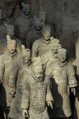Terakotová armáda — Stock fotografie