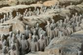 The Terracotta army — Stock Photo