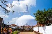 Mirisavatiya Dagoba Stupa, Anuradhapura, Sri Lanka — Stock Photo