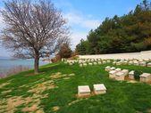 Ari Burnu cmentarz, Gallipoli — Zdjęcie stockowe