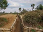 Zákopy Gallipoli — Stock fotografie