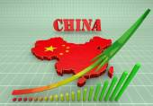 Illustratuin map of China — Stock Photo