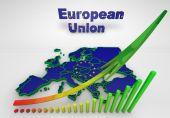 European countries 3d illustration — Photo