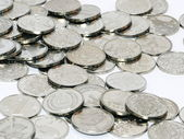 Bunch of coins — Stock Photo