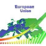 European countries 3d illustration — Stock Photo #56163203