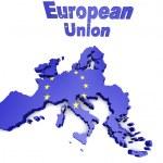 European countries 3d illustration — Stock Photo #56181943