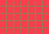 Red Kaleidoscopic Design Pattern — Stock Photo