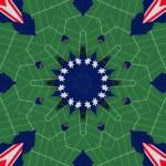 Ethnic pattern. Abstract kaleidoscope fabric design. — Stock Photo #57469053