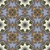 Ethnic pattern. Abstract kaleidoscope  fabric design. — Foto de Stock
