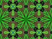 Ethnic pattern. Abstract kaleidoscope  fabric design. — Stockfoto