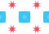 Etnik desen. Soyut kaleydoskop kumaş tasarım. — Stok fotoğraf