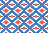 Ethnic pattern. Abstract kaleidoscope  fabric design. — Foto Stock
