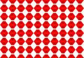 Ethnic pattern. Abstract kaleidoscope  fabric design. — Photo
