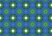 Ethnic pattern. Abstract kaleidoscope  fabric design. — Stock fotografie