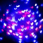 Heart bokeh background, Valentine's day — Stock Photo #63943007