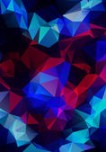 Colorful Polygonal Mosaic Background — Stock Photo