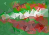Colorful Polygonal Mosaic Background — Fotografia Stock