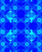 Ethnic pattern. Abstract kaleidoscope — Stock Photo