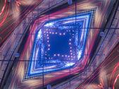 Ethnic pattern. Abstract kaleidoscope  — Stock Photo