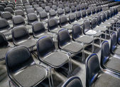 Many empty chairs in conference room — Stock Photo
