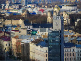 Panorama of Riga from one the buildings — Stock Photo