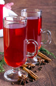 Mulled red wine — Stock Photo