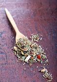 Mix of bio herbal tea  — Stock Photo