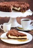 Chocolate mocha cake  — Zdjęcie stockowe