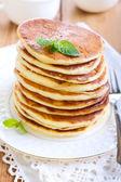 Pile of pancakes — Stock Photo