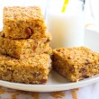Постер, плакат: Pumpkin and oat bars